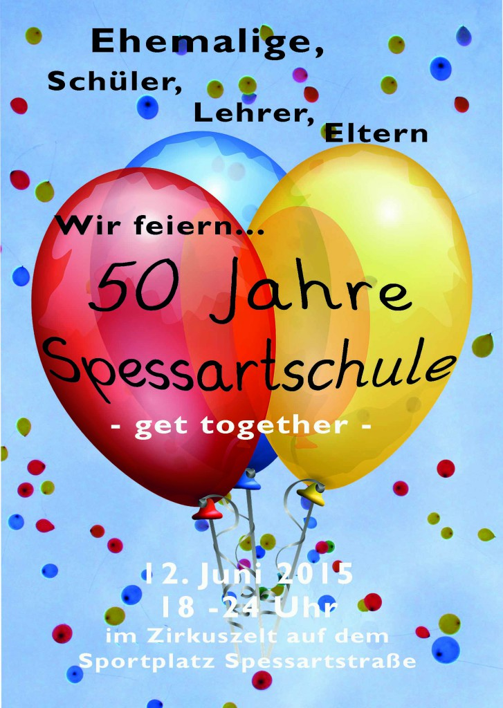 Flyer 50 Jahre